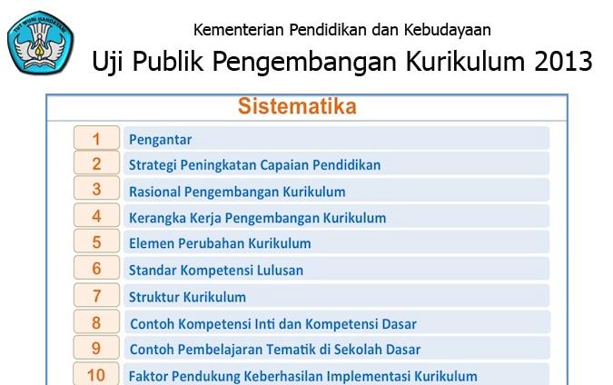 Apa itu uji public kurikulum 2013? merupakan sebagai salah satu