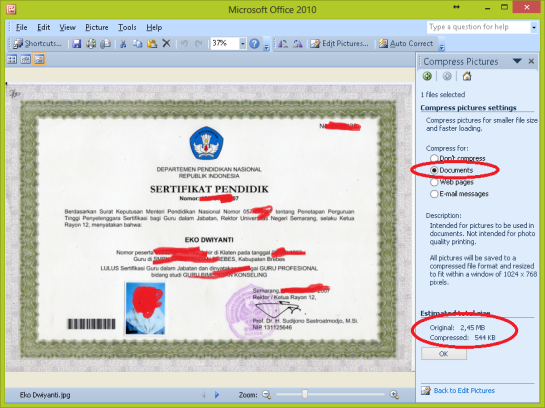 Pilih Document